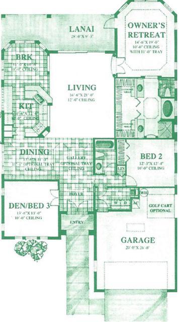 4371 Mirabella Floorplan