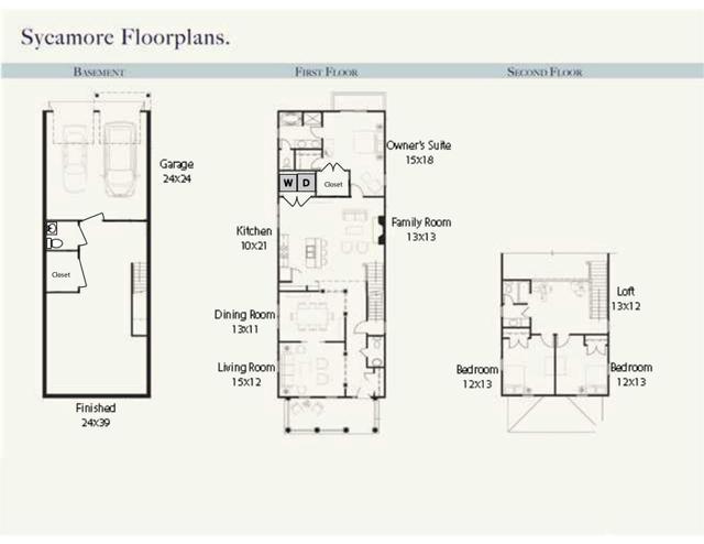 6918 Welbourne Lane Floor Plans