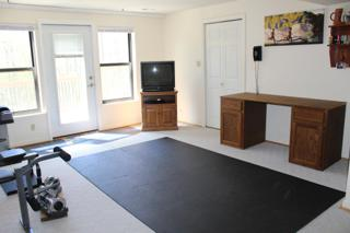 Workout area at W/O