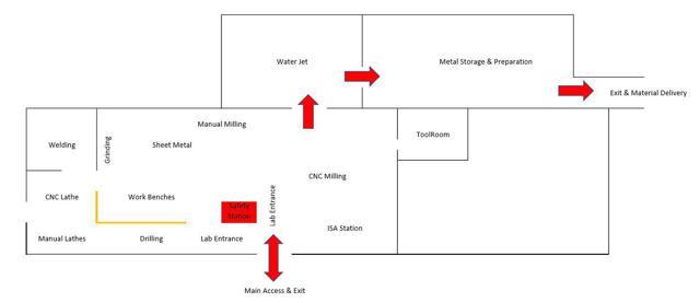 Lab Floor Plan