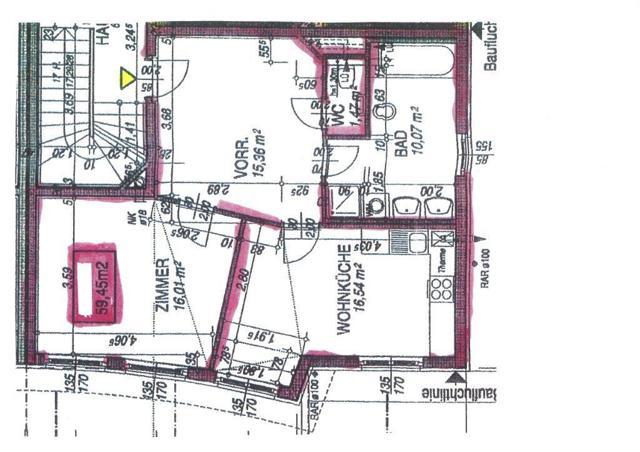 Wohnungsplan Maurer Hauptplatz Nähe