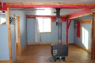 Garage apartment 1