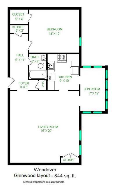 Glenwood layout