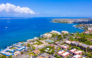 Kona Beach Hostel Drone