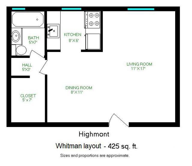 Whitman layout