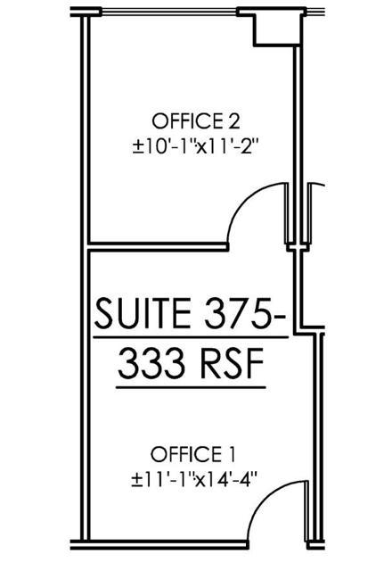 CP Suite 375 Floor Plan