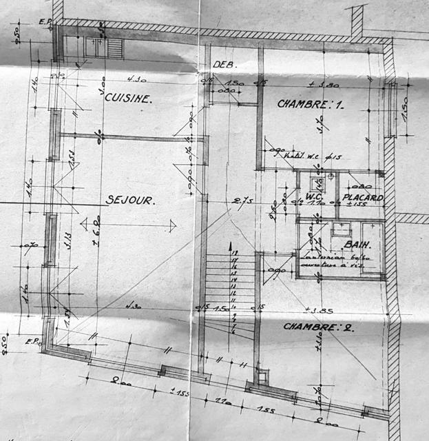 Plan niv.2 (ETAGE)