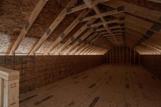 Bonus Space Above Detached Garage