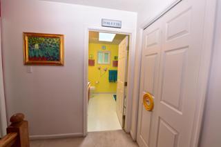 Hallway into Main Upstairs Bathroom