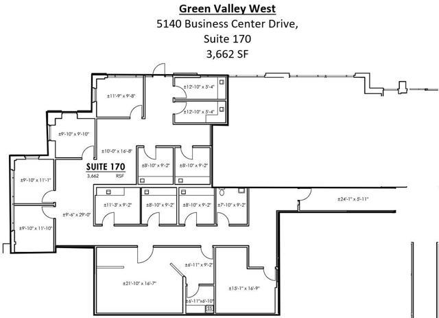 GVW Suite 170 Floor Plan