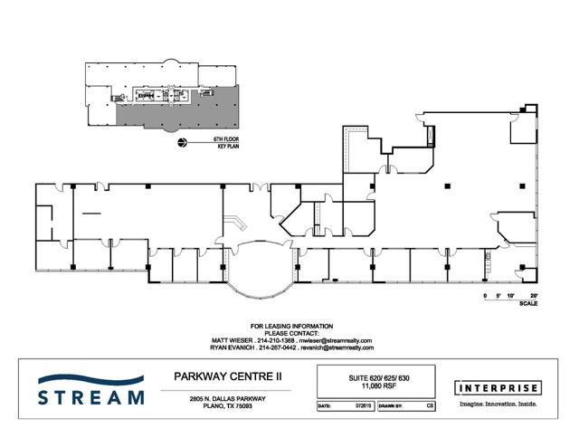 Parkway Centre II - Suite 620-630 - 11,080 RSF