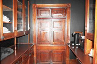 suite closet and pantry