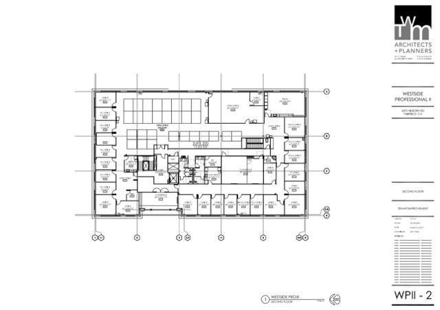 WP 1 @nd Floor Plan