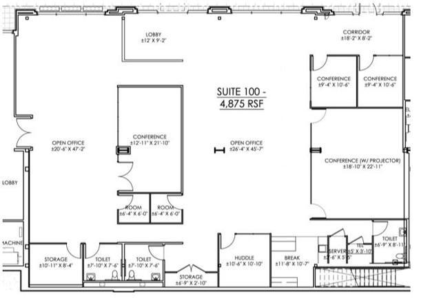 MSW Suite 100 Floor Plan