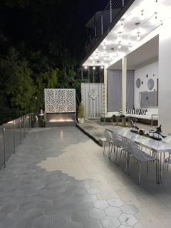 Backyard lounge photo