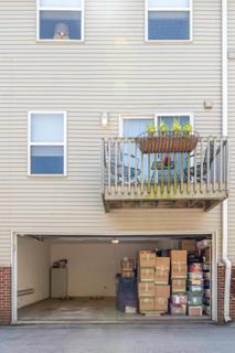 Garage and Balcony