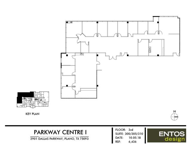 Parkway Centre I - Suite 300&305&310 - 6,436 RSF