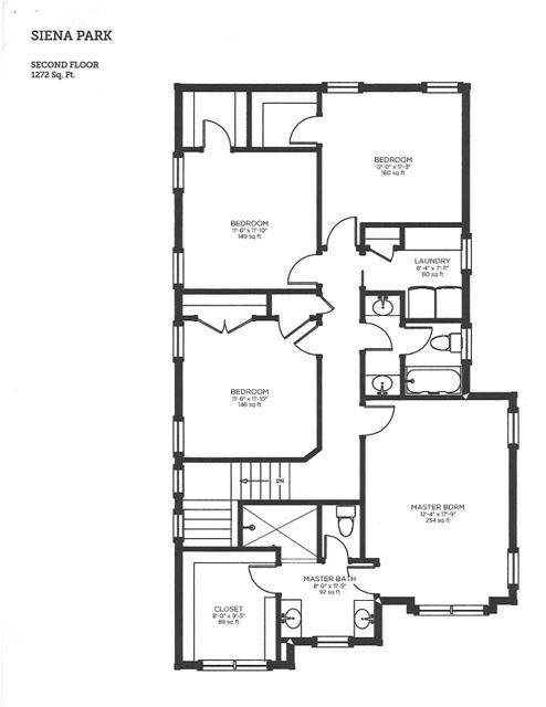 754 Golf View floor plan 2
