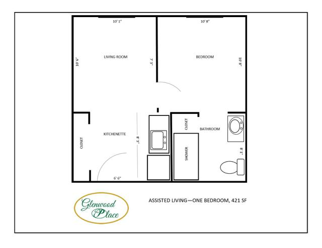 Assisted Living - 421 SF