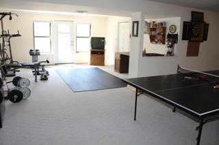 Rec area looking to back W/O