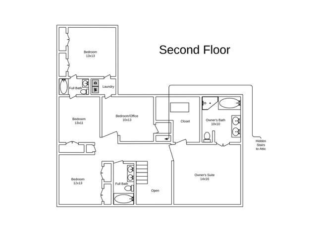 2691 Kendalwood Lane 2nd Floor