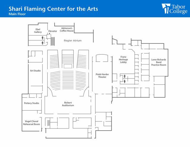 Shari Flaming Center for the Arts Main Floor