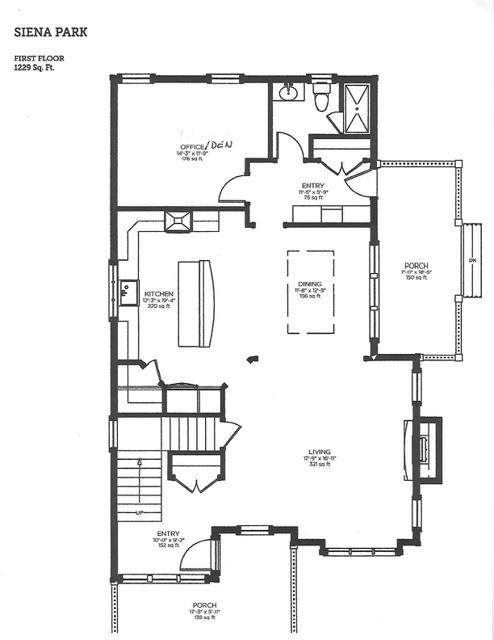 754 Golf View floor plan 1