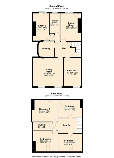 Second Floor Flat, 17 Esplanade, Scarborough