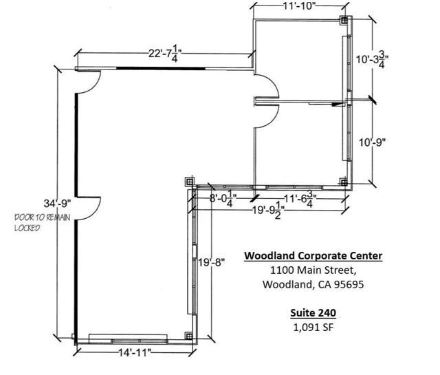 WCC Suite 240-260 Floor Plan