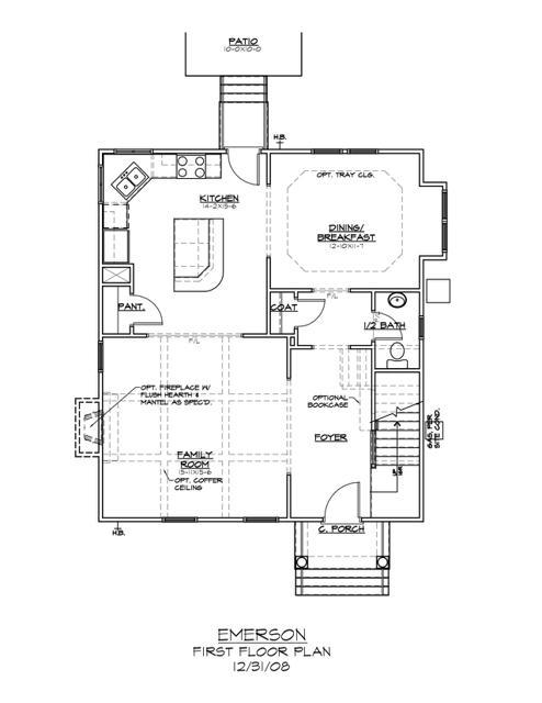 1628 Wickham Way First Floor Plan