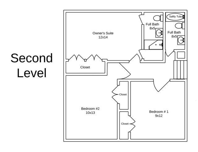 879 Shawnee Road Floorplans 2nd