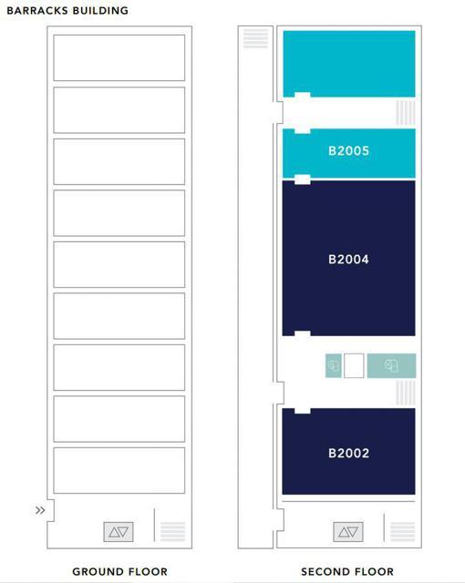 Barracks - Floors 1-2
