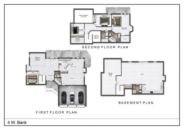 4 West Bank Floor plan