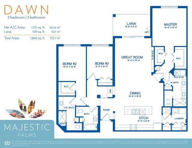 Dawn Floor Plan