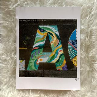 The Letter A by Angelina Villalobos