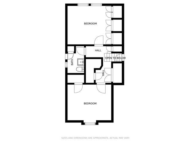 Main house - 2nd floor