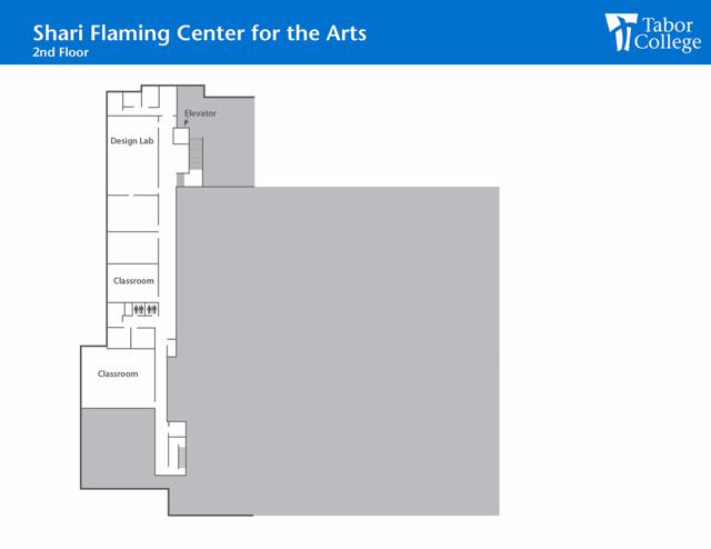 Shari Flaming Center for the Arts 2nd Floor