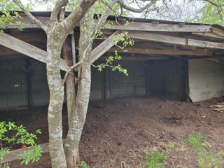 Closer View of the Open Barn