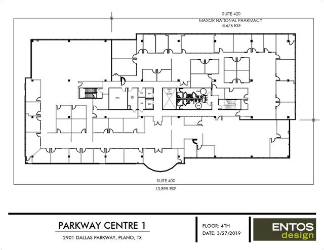 Parkway Centre I - Suite 400 - 13,895 RSF
