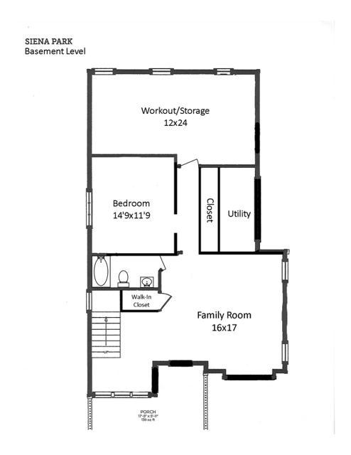 754 Golf View floor plan basement