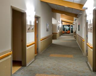 Hallway - Mountain Wing