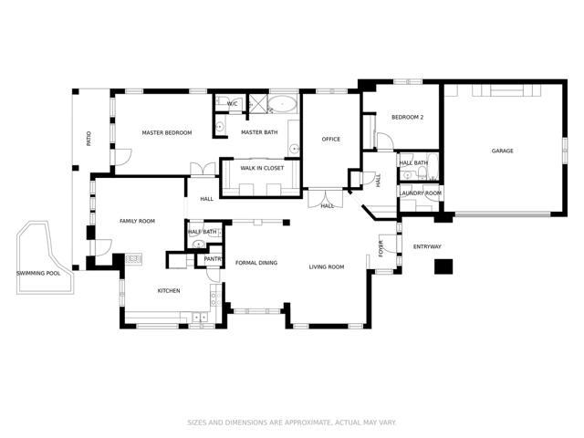 Floor plan 11547 E. Ranch Gate Rd.