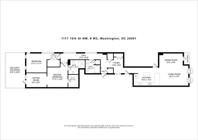 Floor Plan 1117 10th St NW W2