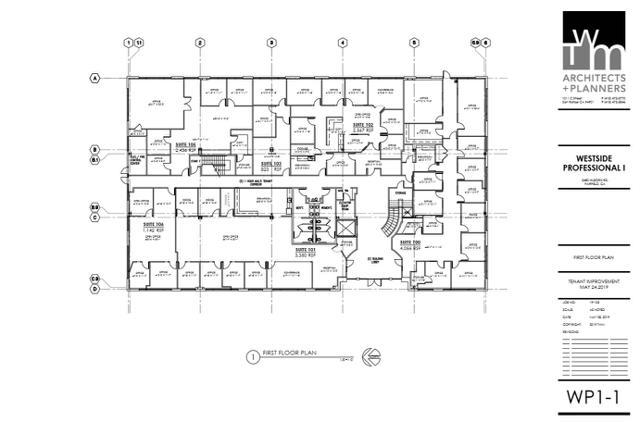 WP 1 First Floor Plan
