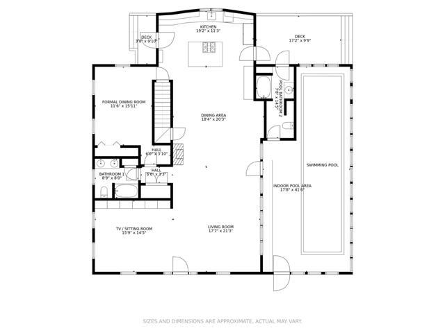 Main House - 1st Floor