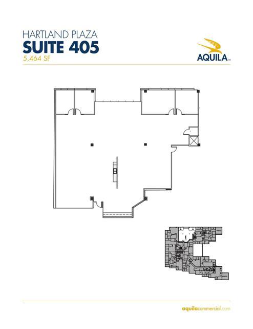Suite 405 Floorplan