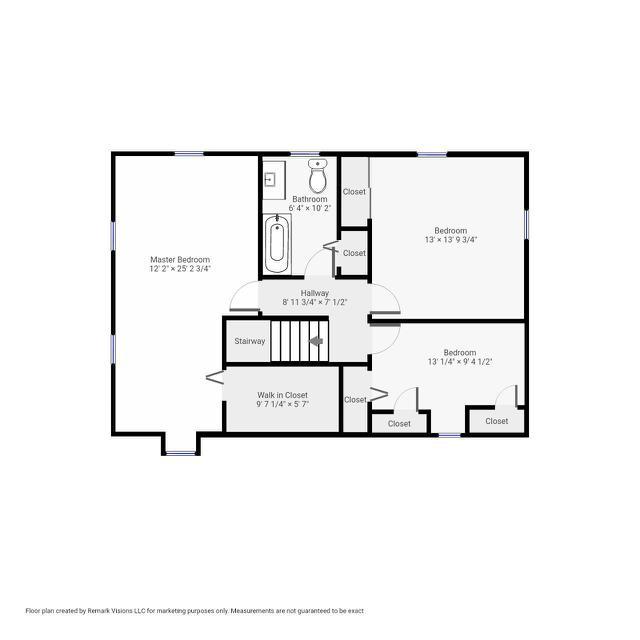 821991-FP 7 Hilltop Dr Millis Ma - 2nd Floor