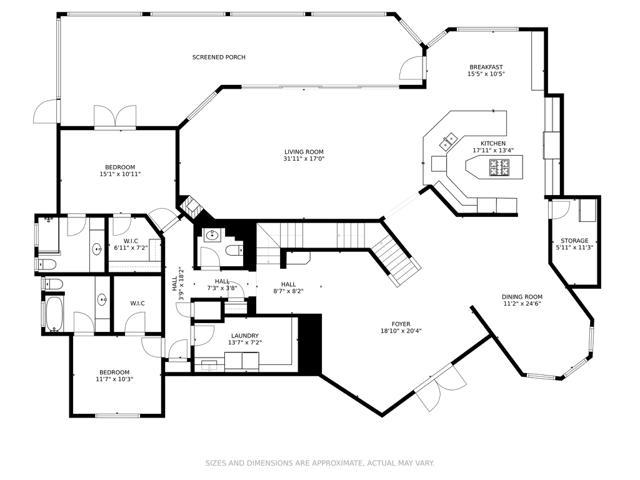 Bay House Main Level