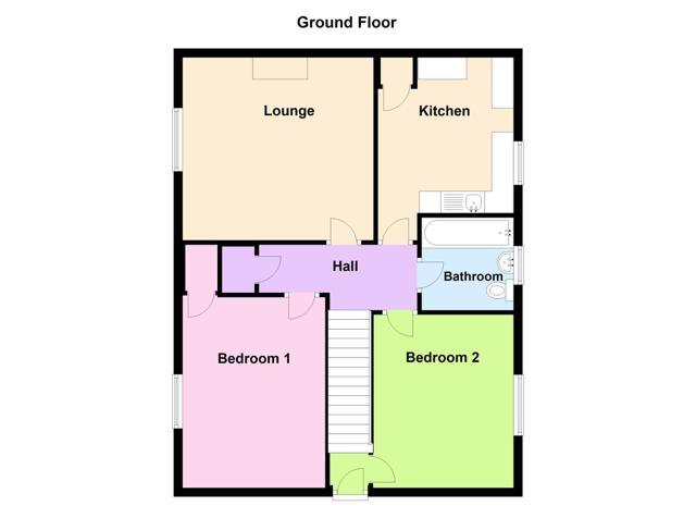 Floorplan - 45 Ackergill Crescent, Wick