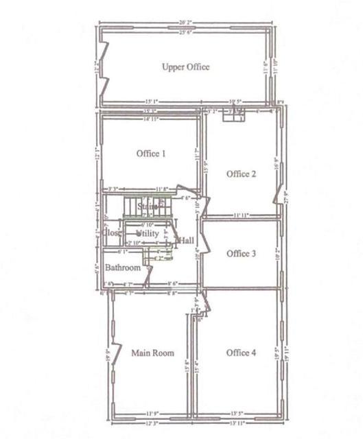 Main Level Floorplan - 1600 SF